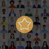 Αστεριών καλή μεγάλη έννοια ανταμοιβής επιτυχίας άριστη Στοκ φωτογραφίες με δικαίωμα ελεύθερης χρήσης