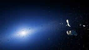 Αστεροειδής ζώνη διανυσματική απεικόνιση