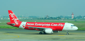 Αστικά αεροσκάφη που σταθμεύουν στο γιο Nhat της Tan το διεθνή αερολιμένα Στοκ φωτογραφία με δικαίωμα ελεύθερης χρήσης
