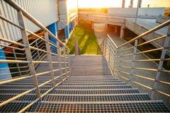 Αστικά υπαίθρια σκαλοπάτια Στοκ εικόνες με δικαίωμα ελεύθερης χρήσης
