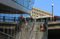 Αστικές αντανακλάσεις στην Οττάβα Στοκ Εικόνα