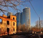 Αστικές αντιθέσεις Στοκ Φωτογραφία