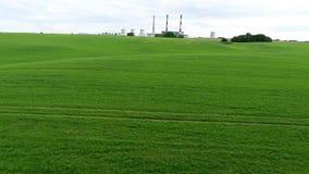 Αστικές εγκαταστάσεις θερμικής παραγωγής ενέργειας Εναέρια έρευνα φιλμ μικρού μήκους