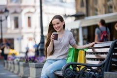αστικές νεολαίες γυναικών σκηνής πόλεων Στοκ εικόνες με δικαίωμα ελεύθερης χρήσης