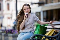 αστικές νεολαίες γυναικών σκηνής πόλεων Στοκ φωτογραφία με δικαίωμα ελεύθερης χρήσης