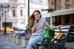 αστικές νεολαίες γυναικών σκηνής πόλεων Στοκ Εικόνα