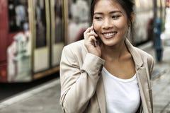 αστικές νεολαίες γυναικών σκηνής πόλεων Στοκ Φωτογραφίες