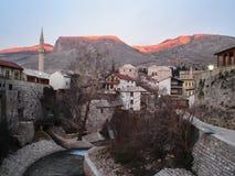 000 200 αστικές τρύπες πάλης Ερζεγοβίνη σφαιρών της Βοσνίας του 1994 του 1993 σκότωσαν τα mostar κοχύλια οργών περιόδου στον πόλε Στοκ Εικόνες