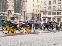 Αστική άποψη, Βιέννη, Αυστρία Στοκ Εικόνες