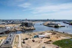 Αστική ανάπτυξη Στοκ εικόνα με δικαίωμα ελεύθερης χρήσης