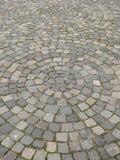 Αστική επίστρωση που τακτοποιείται στους κύκλους Στοκ εικόνα με δικαίωμα ελεύθερης χρήσης