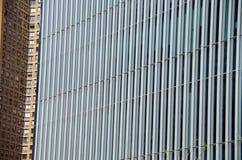 Αστική σύνθεση πολυόροφων κτιρίων Στοκ φωτογραφία με δικαίωμα ελεύθερης χρήσης