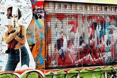 Αστική τέχνη Serge gainsbourg house rue de verneuil Παρίσι Στοκ εικόνες με δικαίωμα ελεύθερης χρήσης