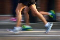 Αστική τρέχοντας φυλή Στοκ Φωτογραφία