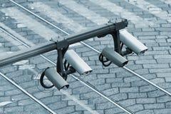 Αστικοί ταχύτητα και έλεγχος ασφαλείας Στοκ εικόνες με δικαίωμα ελεύθερης χρήσης