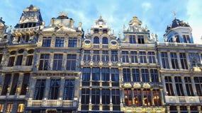 Αστικός αρχιτέκτονας πόλεων του Βελγίου Στοκ Εικόνες