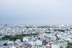 Αστικός ορίζοντας πόλεων, πόλη Χο Τσι Μινχ, Βιετνάμ Στοκ φωτογραφία με δικαίωμα ελεύθερης χρήσης