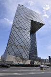 Αστικός ορίζοντας του Πεκίνου, Κίνα Στοκ Εικόνες