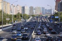 Αστικός ορίζοντας του Πεκίνου, Κίνα Στοκ φωτογραφία με δικαίωμα ελεύθερης χρήσης