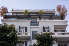 Αστικός περίπατος στο Τελ Αβίβ Στοκ Εικόνα