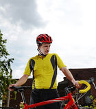 Αστικός ποδηλάτης Στοκ εικόνα με δικαίωμα ελεύθερης χρήσης