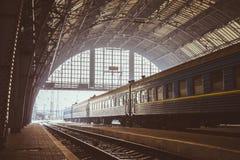 Αστικός σιδηροδρομικός σταθμός Στοκ εικόνες με δικαίωμα ελεύθερης χρήσης