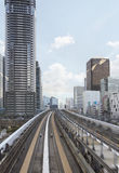 Αστικός σιδηρόδρομος του Τόκιο, Ιαπωνία Στοκ εικόνα με δικαίωμα ελεύθερης χρήσης
