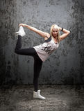 Αστικός χορευτής χιπ χοπ Στοκ Εικόνα