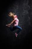 Αστικός χορευτής χιπ χοπ στοκ εικόνες