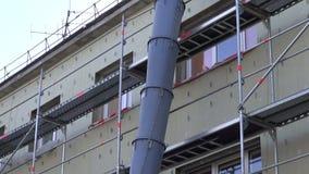 Αστικός χώρος εργασίας ανακαίνισης σπιτιών με τον ειδικό σωλήνα φιλμ μικρού μήκους