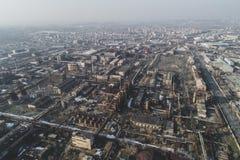 Αστικό εγκαταλειμμένο εργοστάσιο στοκ εικόνες