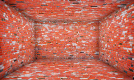 Αστικό εσωτερικό στάδιο τούβλου Στοκ Εικόνες