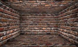 Αστικό εσωτερικό στάδιο τούβλου Στοκ εικόνες με δικαίωμα ελεύθερης χρήσης