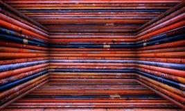Αστικό εσωτερικό στάδιο φρακτών μετάλλων Στοκ φωτογραφία με δικαίωμα ελεύθερης χρήσης