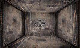 Αστικό εσωτερικό δωμάτιο μετάλλων Στοκ εικόνα με δικαίωμα ελεύθερης χρήσης