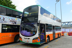 Αστικό λεωφορείο Χονγκ Κονγκ Στοκ Φωτογραφία