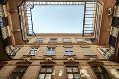 Αστικό κατοικημένο κτήριο Στοκ φωτογραφία με δικαίωμα ελεύθερης χρήσης
