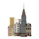 Αστικό σχέδιο πόλεων Στοκ Εικόνες