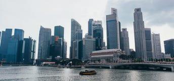 Αστικό τοπίο οριζόντων της Σιγκαπούρης Εμπορικό κέντρο Sityscape στοκ φωτογραφία