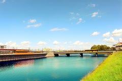 Αστικό τοπίο πόλεων του Μάλμοε, Σουηδία Στοκ εικόνα με δικαίωμα ελεύθερης χρήσης