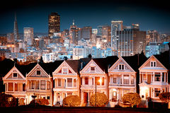 Αστικό τοπίο Σαν Φρανσίσκο Στοκ φωτογραφία με δικαίωμα ελεύθερης χρήσης