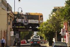 Αστικό τραίνο στο San Jose Κόστα Ρίκα Στοκ Εικόνα