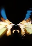 Αστικό υπόβαθρο bokeh Φω'τα πόλεων στο υπόβαθρο με το θόλωμα των σημείων του φωτός Στοκ φωτογραφία με δικαίωμα ελεύθερης χρήσης