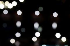 αστικό φως νύχτας bokeh στοκ εικόνες με δικαίωμα ελεύθερης χρήσης
