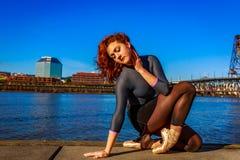 Αστικό Ballerina Στοκ εικόνα με δικαίωμα ελεύθερης χρήσης