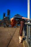 Αστικό Ballerina Στοκ φωτογραφίες με δικαίωμα ελεύθερης χρήσης