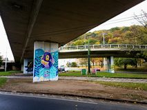 Αστικό grafity χρώματος Στοκ εικόνα με δικαίωμα ελεύθερης χρήσης