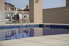 Αστικό swimmingpool στοκ εικόνες