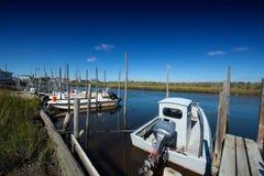 αστουρίες cudillero που αλιεύουν το χωριό της Ισπανίας Στοκ φωτογραφίες με δικαίωμα ελεύθερης χρήσης