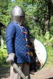 Αστράφτοντας εκμετάλλευση ξίφος ιπποτών Στοκ φωτογραφία με δικαίωμα ελεύθερης χρήσης